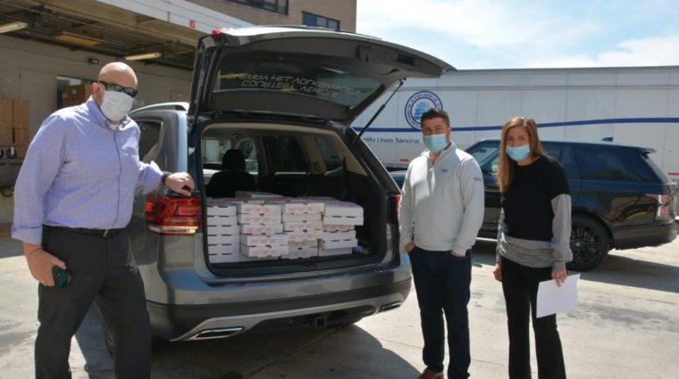 Amanda and Lou DiMattia Meal Donation