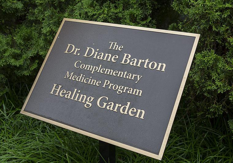 Healing Garden Plaque
