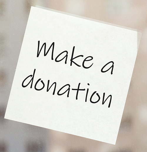 Make A Donation Image