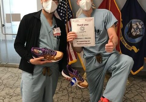 Sneakers for Heroes Employees