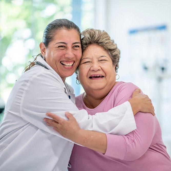 Doctor Patient Hug